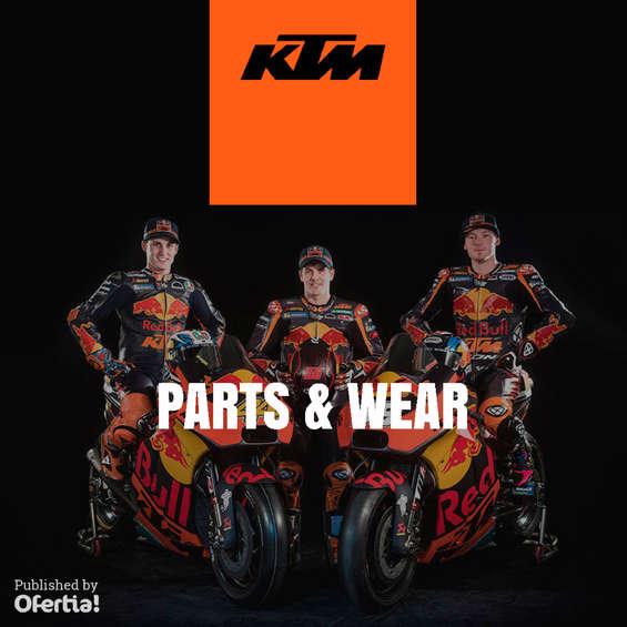 Ofertas de KTM, KTM parts&wear