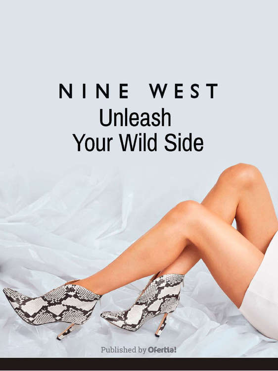 Ofertas de Nine West, Nine West unleash your wild side