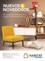 Ofertas de Habitat Store, Catálogo - Nuevos & Novedosos, en Mayo descubre todo lo nuevo que tenemos para ti.