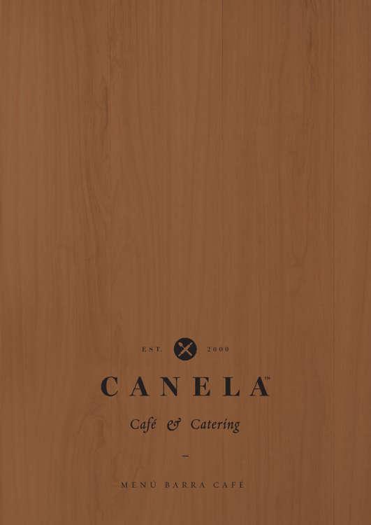 Ofertas de Canela Bakery, Menú Barra Café
