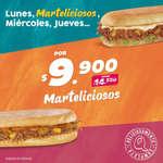 Ofertas de Sandwich Qbano, Martelicioso
