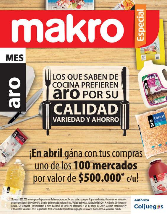 Ofertas de Makro, Makro especial  - Mes aro