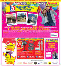 Con Sentry elige tu aventura - Exclusivo en tiendas fuera de Bogotá