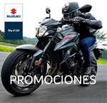 Ofertas de Suzuki Motos, Promociones Septiembre 2017