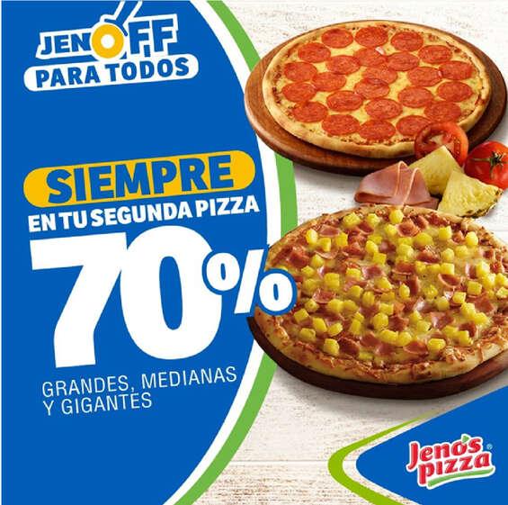 Ofertas de Jeno's Pizza, Jenos pizza promo