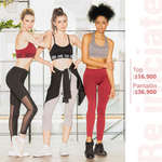 Ofertas de Lili Pink, Top y pantalón