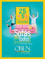 Ofertas de Oben, Sofás para todos