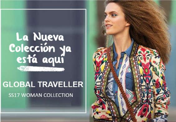 Ofertas de Desigual, Colección Global Traveller SS17