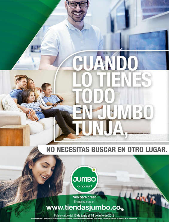 Ofertas de Jumbo, Lo Tienes Todo en Jumbo Tunja