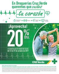 ¡Aprovecha! 20% de descuento en productos para el cuidado del corazón