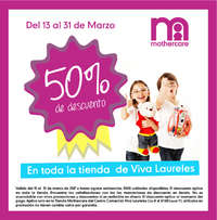 50% de descuento en toda la tienda de Viva Laureles