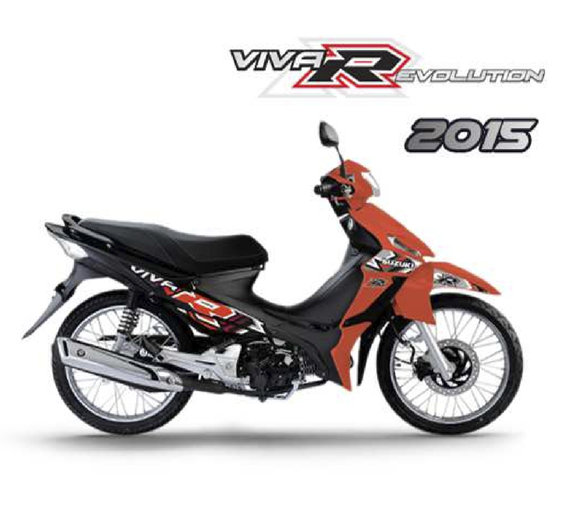 Ofertas de Suzuki Motos, VIVA R 2015