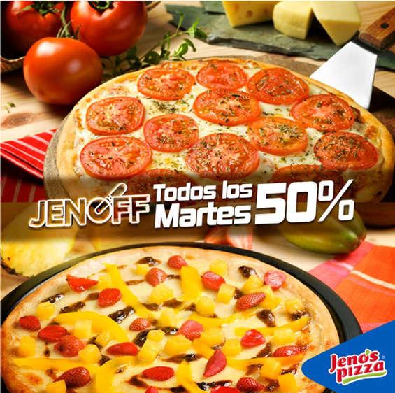 Ofertas de Jeno's Pizza, 50% off