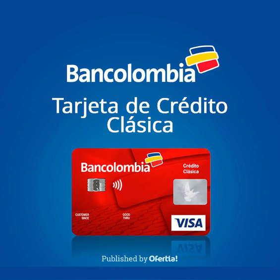 Ofertas de Bancolombia, Bancolombia tarjeta de crédito