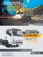 Ofertas de Chevrolet, Aprovecha descuento en camiones NHR