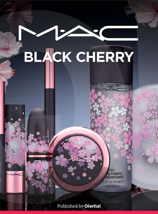 Ofertas de Mac Cosmetics, Black Cherry