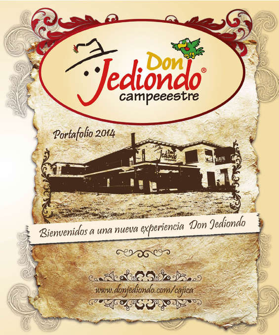 Ofertas de Don Jediondo, Menu Campeeestre