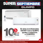 Ofertas de Super Almacenes Olímpica, Súper Septiembre Olimpo