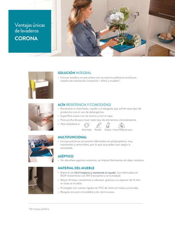 Ofertas de Tienda Cerámica Corona, Cocinas y Lavadero