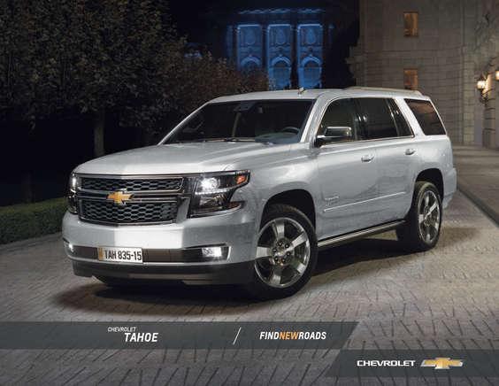 Ofertas de Chevrolet, TAHOE