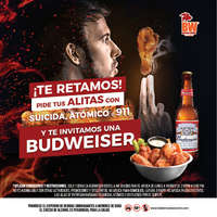 Buffalo Wings te reta!