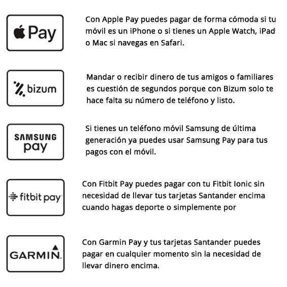Ofertas de Banco Santander, Santander pago con tu móvil