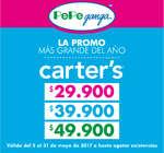 Ofertas de Pepe Ganga, La promo más grande del año - Carter's