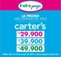 La promo más grande del año - Carter's