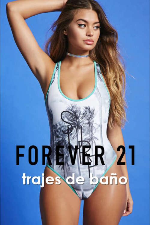 Ofertas de Forever 21, trajes de baño