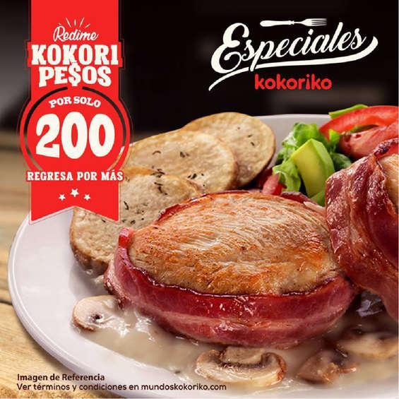 Ofertas de Kokoriko, Especiales y Clásicos