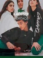 Ofertas de Lacoste, Lacoste heritage