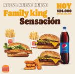 Ofertas de Burger King, Family king sensación
