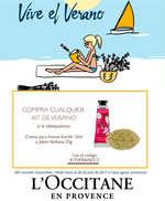 Ofertas de L'occitane, Vive el verano con L'occitane