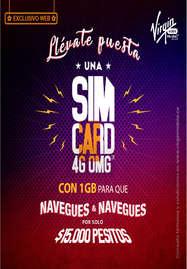 Llévate puesta una SIM card 4g omg