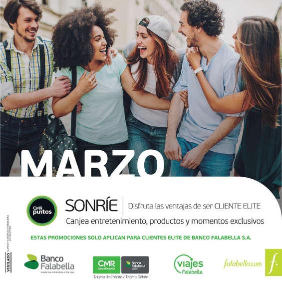 Ofertas de Banco Falabella, Catálogo Cliente Elite - Marzo 2017
