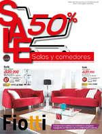 Ofertas de Fiotti Super Almacén de Muebles, SALE 50% Salas y comedores