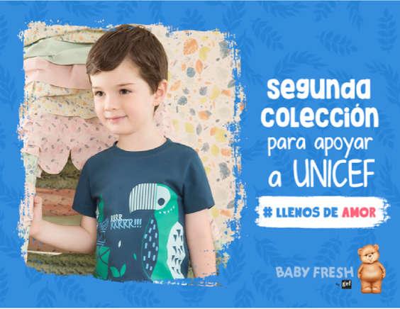 Ofertas de Baby Fresh, Segundo Colección Para Apoyar a UNICEF