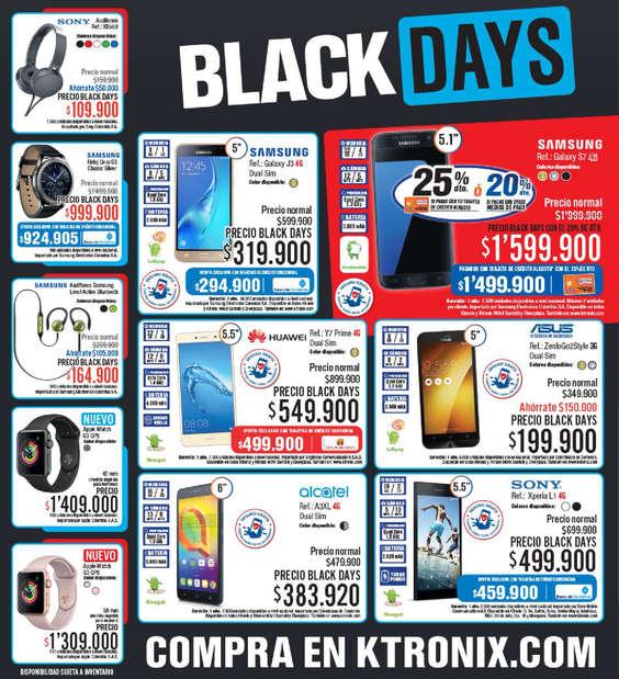 Ofertas de KTronix, Black Days