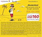 Ofertas de Viva Colombia, ¡Noviembre! Mini vacaciones antes de las súper vacaciones