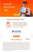 Ofertas de Itaú, Latam Airlines