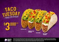 Taco Tuesday - Todos los Martes
