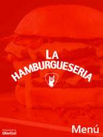 Ofertas de La Hamburguesería, Menú