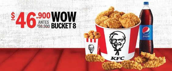 Ofertas de KFC, Promo Bucket 8
