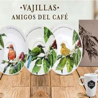 Vajillas Amigos del Café