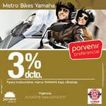 Ofertas de Porvenir, 3% de descuento en motocicleta YAMAHA