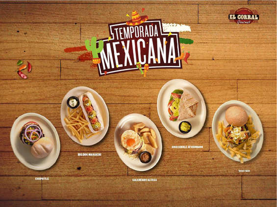 Ofertas de El Corral, Temporada Mexicana