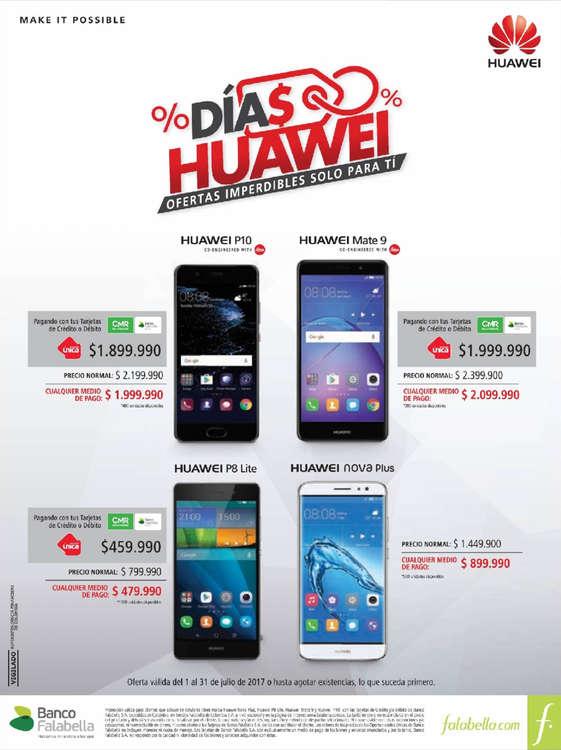 Ofertas de Falabella, Días Huawei