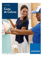 Ofertas de Corona Puntos de Venta, Carta de Colores