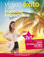 Ofertas de Viajes Éxito, Viajes Éxito en revista - Promoción días de precios especiales