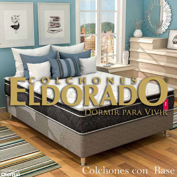 Ofertas de Colchones El Dorado, Colchones Con Base